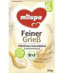 Milupa Bio-Grieß Getreidebrei