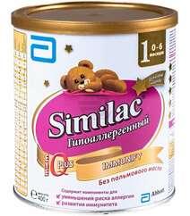 Similac ГА 1 смесь с пребиотиками 0-6мес. 400гр