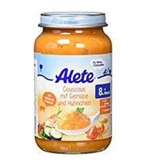 Alete Couscous mit Gemüse und Hühnchen, 220 g