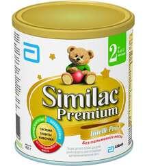Similac Premium смесь 2 с пребиот. 6-12мес. 400гр