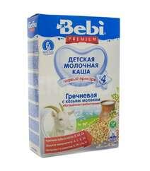 Каша c 4 мес. молочная Bebi Премиум гречка с козьим молоком