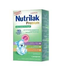 NUTRILAK Нутрилак кисломолочный, с рождения 350гр