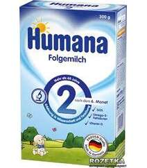Молочная сухая смесь Humana 2 300 г