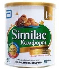 Similac Комфорт 1 молочная смесь 375гр