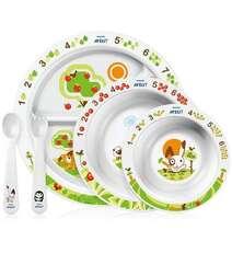 Avent Столовый набор посуды с рисунком