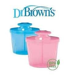 Dr.Brown''s Дозатор сухой смеси цвет розовый.