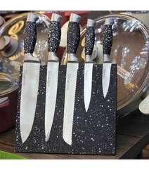 Maqnit dəstəkli bıçaq dəsti