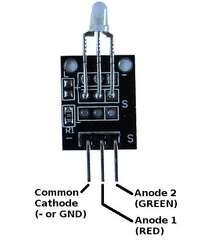 İki rəngli mini sensor KY-029