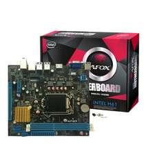 AFOX Intel H61M-K ( LGA1155 / 2-3.gen / 2xDDR3 )
