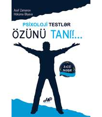 Asəf Zamanov, Hökümə Əliyeva - Özünü tanı!... Psixoloji testlər