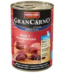 Gran Carno Junior с говядиной и сердцем индейки для щенков
