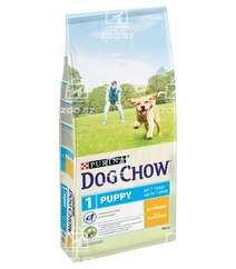 Dog Chow корм для щенков всех пород до 1 года с курицей (на развес)