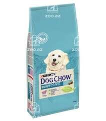 Dog Chow корм для щенков всех пород до 1 года с ягненком (на развес)