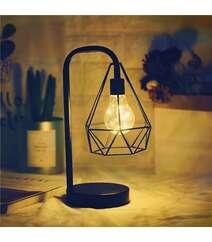 Batareya ilə işləyən masaüstü hədiyyəlik dekor lampa