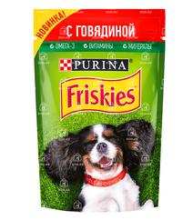 Friskies влажный корм для собак с говядиной
