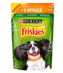 Friskies влажный корм для собак с курицей