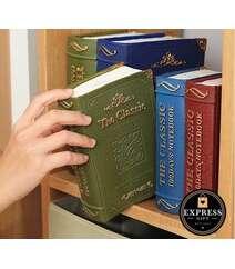 Kitab formalı pul qabı