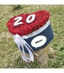 51 ədəd roza