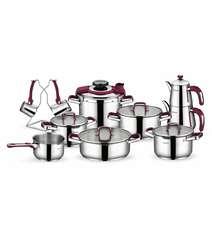 18 Parçalı Kompakt Çelik Dowry Set