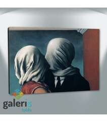 The Lovers - rene-magritte