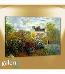 Garden in Argenteuil - Cloude Monet