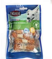 Trixie Chewing Dumbbells лакомство для собак с куриной грудкой с рисом