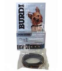 Бурди Фипро ошейник декоративный инсектоакарицидный от блох и клещей для мелких собак, 40 см