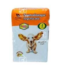 «Доброзверики» впитывающие подстилки для домашних животных «Умная покупка» 60×60 см, 5 шт.