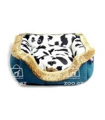 Лежанка квадратная для кошек и мелких собак, 45 см