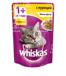 Whiskas мини-филе с курицей