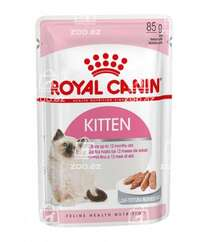 Royal Canin Kitten влажный корм для котят до 12 месяцев в паштете