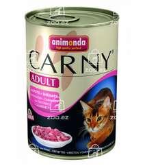 Carny Adult консервы с индейкой и креветками