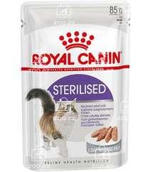 Royal Canin Sterilised влажный корм для стерилизованных кошек в паштете