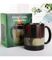 Ghost qeyri-adi krujka-buqələmunu