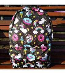Unicorn naxışlı çantalar