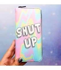 Shut up cüzdanı