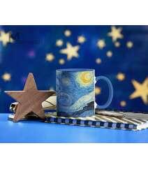 Starry Night dizaynlı fincan