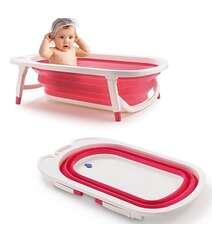 Uşaqlarınız üçün sürüşməyən materyalda açılıb yığılan kompakt vanna