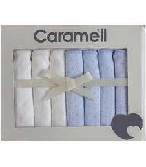 Türkiyə istehsalı Caramell markalı 7-lik uşaq ağız dəsmalları