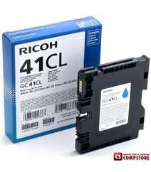 Ricoh Cyan Gel Low Yield GC 41CL (405766)