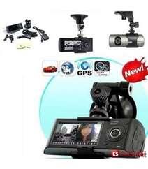 """DVR R2300 G-sensor GPS Dual Lens HD 2.7"""" Car DVR Auto Crash CAM Camera"""