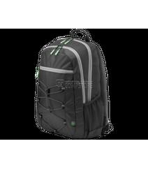 HP Active Backpack (Black/Mint Green) 39.62 cm 15.6-inch (1LU22AA)