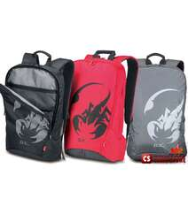 """Рюкзак Genius GX-Gaming GB-1750 Backpack (17"""" Черный, Серый, Красный)"""