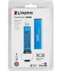 Kingston DataTraveler 2000 Encrypted Keypad USB Flash Drive 16 GB