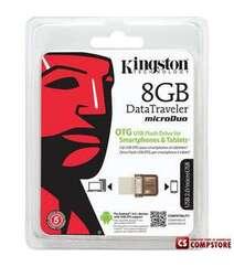 Kingston DataTraveler 8 GB USB OTG Flash Drive