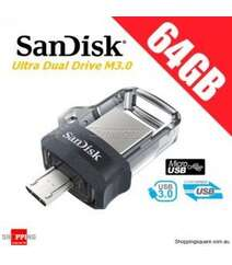 SanDisk Ultra Dual Drive m3.0 64 GB (Windows | Android)