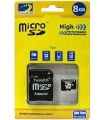 Twinmos microSD 8 GB Class 10