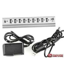 USB HUB 10 Port Hi-Speed with External Power Source