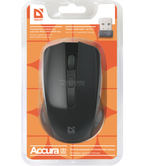 Defender Accura MM-935 Wireless optical mouse (4 Button | 1600 DPI)