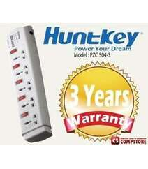 HuntKey Power strip PZC504-4 3 metr Elektrik uzadıcı
